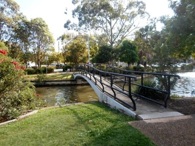 Humpybong Park and Creek redcliffe
